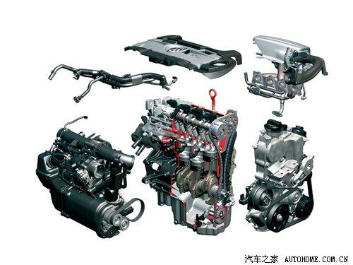 发动机整体结构图